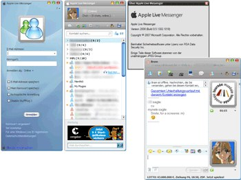 Skin Apple Live Messenger4.5