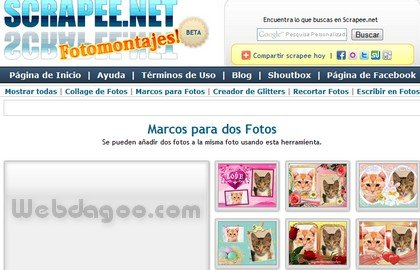 scrapee Crear marcos para fotos en scrapee