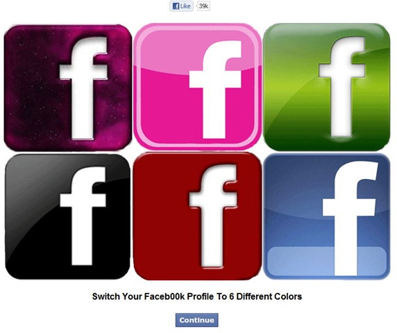 color my facebook Color My Facebook, dale color a tu muro