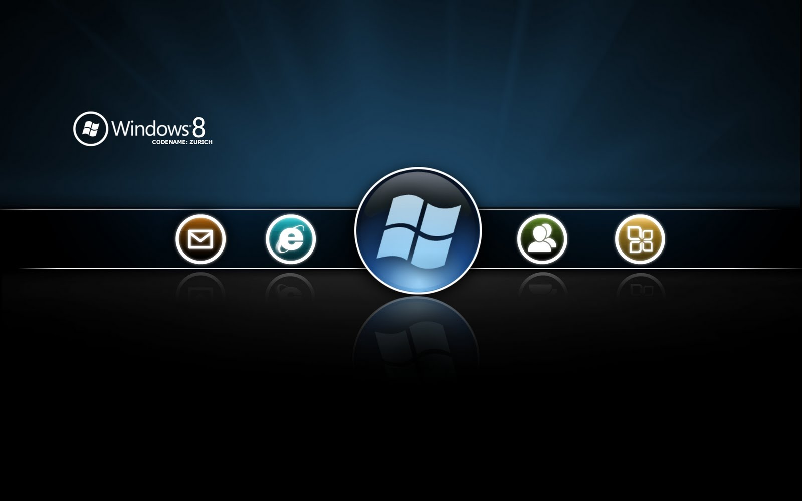 Icon Windows 8 Wallpaper Microsoft habilita la descarga de Windows 8 Release Candidate