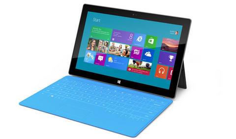 Tableta Surface 480 311 Surface, la tableta de Microsoft