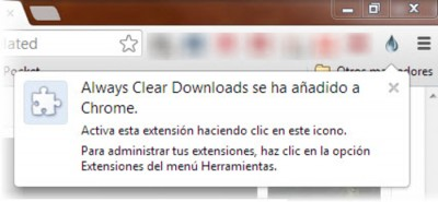 always clear downloads 400x185 Limpiar las descargas de Google Chrome automáticamente con Always Clear Downloads