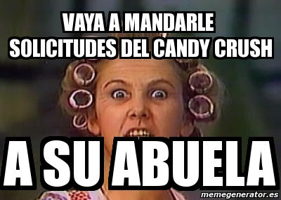 Solicitudes Candy Crush